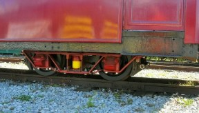 image:-  Polish bogie, under Carriage 119