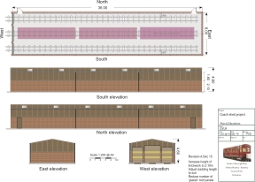 image:- New Carraige Shed, Plan