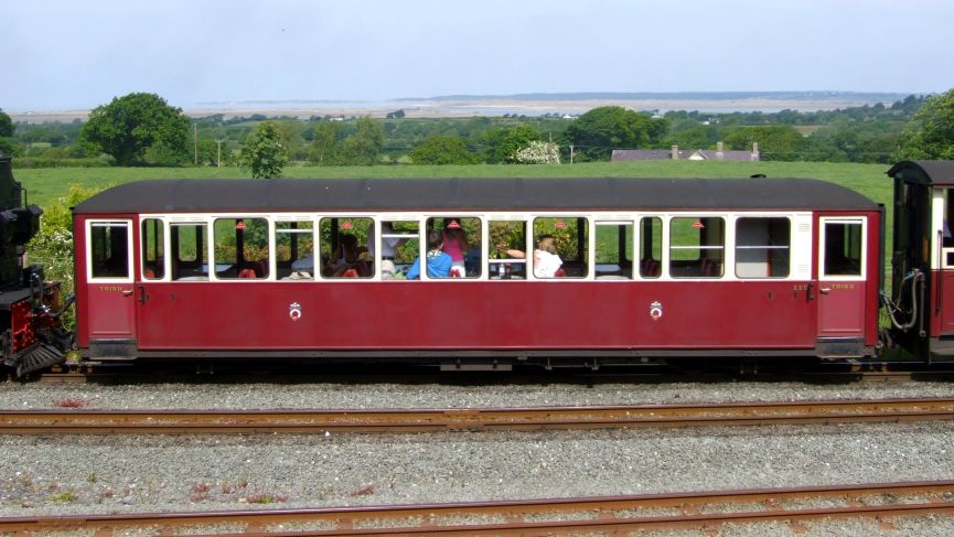 GVLR   Carriage 119 - Golden Valley Light Railway